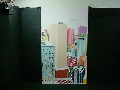 NobleSpirit  {3970} Signed/Numbered Artist Proof Mori Shizume's NY Skyline 4