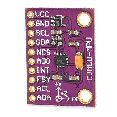 Integrated Gravity 6-axis Gyro Accelerator Module Purple Sensor for Arduino