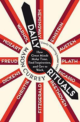 Daily Rituals by Currey, Mason | Paperback Book | 9781447271475 | NEW