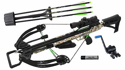 Carbon Express Piledriver 390 Crossbow Package with Crank Cocker