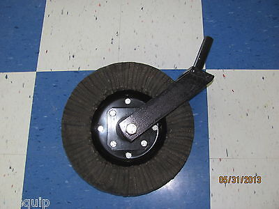 "King Kutter Tailwheel Assembly Complete, 1-1/4"" Shank, Rotary Cutter Bush Hog"