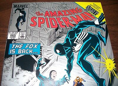The AMAZING SPIDER-MAN #265 2nd Print 1st Appearance Silver Sable from June 1992