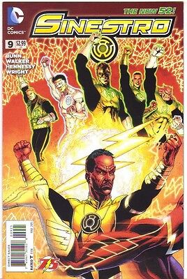 Sinestro #9 The Flash 75 Years Variant Cover NM (2015) DC Comics