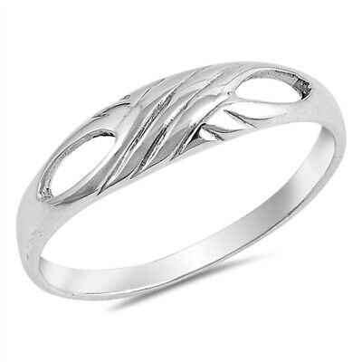 Criss Cross Knot Filigree Petite Ring New .925 Sterling Silver Band Sizes 5-10