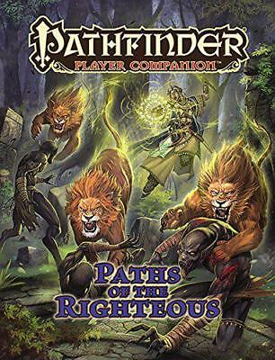 Pathfinder Player Companion: Paths of the Righteous by Staff, Paizo, NEW Book, (