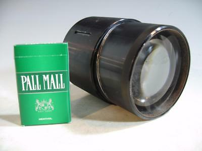 Vintage 4 Inch Opaque Projector/Projection Lens