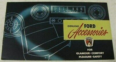 Ford 1951 Accessories Sales Brochure