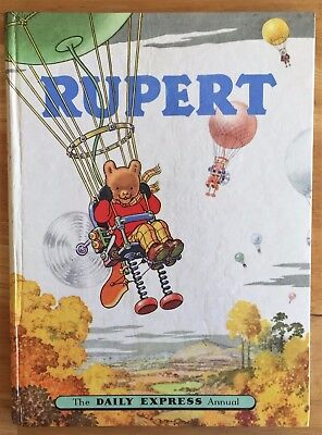 RUPERT ANNUAL 1957 Inscribed Price Intact Puzzles & Painting Untouched VG PLUS