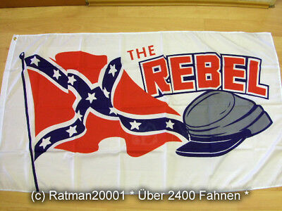 Fahnen Flagge THE - Rebel  - 90 x 150 cm