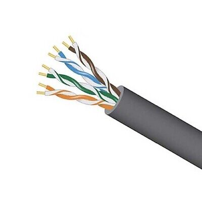 OUTDOOR CAT6A 10G BARE COPPER SOLID WIRE 100,200,300,400FT