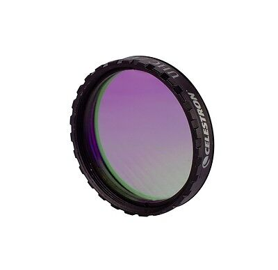 "Celestron UHC/LPR Filter -1.25"" reduce transmission produced by artificial light"