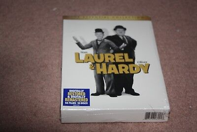 Laurel  Hardy: The Essential Collection (DVD, 2011, 10-Disc Set) *Brand New*