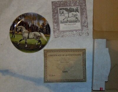 Spode Noble Horse Plate Collection - Stored in Boxes Since Acquired
