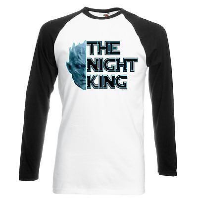 ALM786t-Mens Funny Shirts-Knight King-White Walker Game of thrones Style