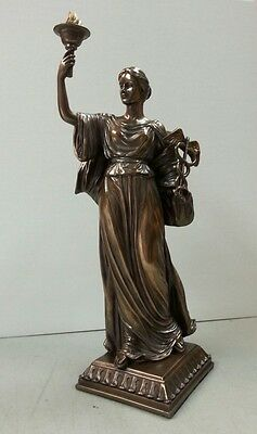 Nursing and Medicine Statue Reiki Healer Statue Greek Goddess Hygieia #9315