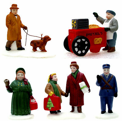 Dept. 56 City People Set of 5 Retired 1990 Christmas in the City 59650 New