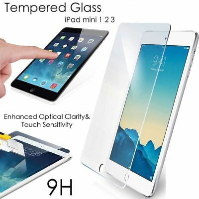 """For Apple X iPad Mini 1/2/3/4 7.9"""" 9H Real Tempered Glass Film Screen Protector"""
