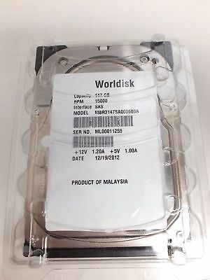 "WORLDISK SAS / SCSI HDD Server Hard Drive 36.7GB-73GB - 147GB 2.5"" & 3.5"" -N44"