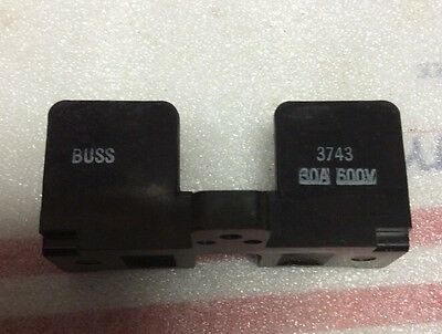 New Cooper Bussmann -  3743 -  Buss Fuse Holder, 30A 600V 1 Pole
