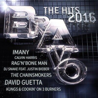 BRAVO HITS 2016 Best of The Year Pop 2-CD NEW Ellie Goulding/Justin Bieber/SIA