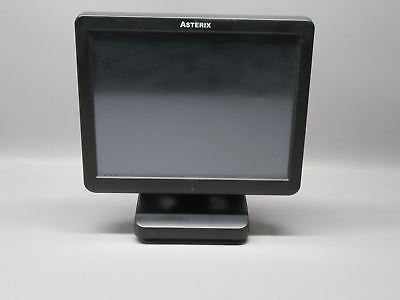 """PioneerPOS System AsterixTouch-X5 15"""" All-In-One Touchscreen w/Intel Atom D2500"""