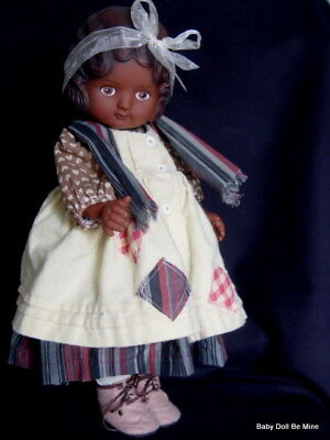 Daisy Kingdom ~*~ Pansy ~*~  18 inch Doll with Dark Skin