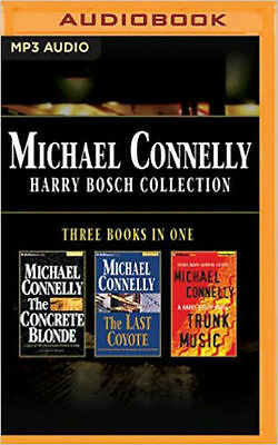 Michael Connelly HARRY BOSCH COLLECTION Unabridged MP3-CD 41 Hr NEW* 1st Cl Ship