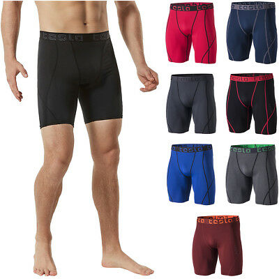TSLA Tesla MUS17 Cool Dry Baselayer Sport Compression Shorts