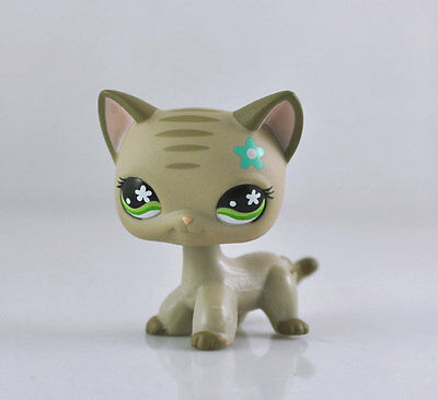 Pet Short Hair Cat Collection Child Girl Boy Figure Littlest Toy Loose LPS859