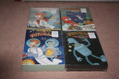 Futurama Volumes 1-4: The Complete Series DVD *Brand New Sealed*