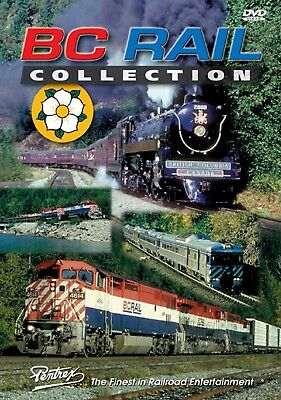 Bc Rail Collection Pentrex Dvd Video Dayliner One, Snowtrain, Mile 63.5 + More