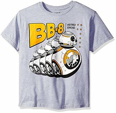 Star Wars Toddler Boys Bubba Eight BB-8 Astro Droid T-Shirt NEW