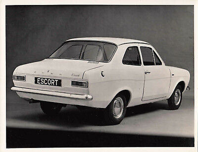Ford Escort De Luxe, Mk.1 Two Door Saloon, Period Photograph.