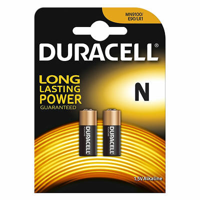 Duracell Long Lasting 1.5V Batteries MN9100 E90 LR1 N Alkaline Battery 2 Pack