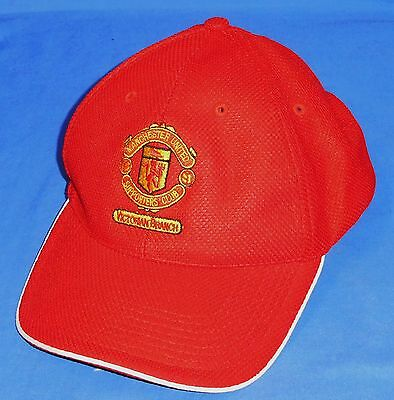 New Manchester United Football Supporters Club Soccer Cap Adults 1 size fits all