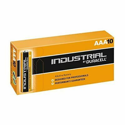 Duracell AAA Industrial 1.5V Batteries High Power Alkaline LR03 Battery 10 Pack