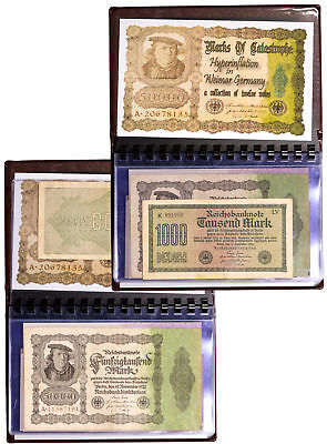 Set of 12 - Weimar Germany Inflationary Notes c.1920s SKU50326