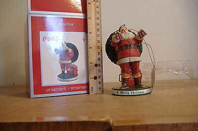 New~A Merry Christmas Calls For Coke~Santa~American Greetings Heirloom Ornament~