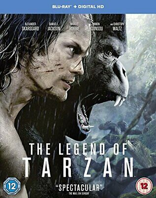 The Legend of Tarzan [Includes Digital Download] [Blu-ray] [2016] ... -  CD MWVG
