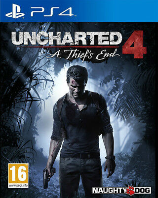 Uncharted 4: A Thief's End (PS4)  NEW AND SEALED - IN STOCK - QUICK DISPATCH