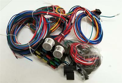1941-1948 Ford Car 12 Circuit Wiring Harness Wire Kit Standard Deluxe Street Rod