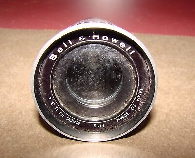 Bell & Howell f/1.2, 19mm-32mm Projection Lens, Good