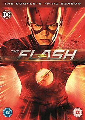 THE FLASH Stagione 3 Serie Completa DVD in Inglese NEW .cp