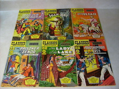 Classics Illustrated 60,61,62,63,64,65,66,67,68,69,70,71,72,73,74,75,76,77,78,79