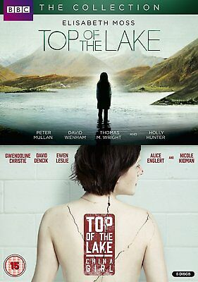 TOP OF THE LAKE:THE COLLECTION Stagioni 1-2 Complete BOX 5 DVD in Inglese NEW.cp