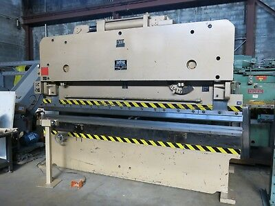 HTC 155 Ton Hydraulic Press Brake with 4 Way Die Excellent Condition