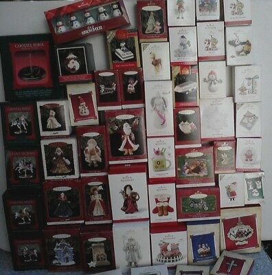 Lot of 50 Hallmark  Ornaments
