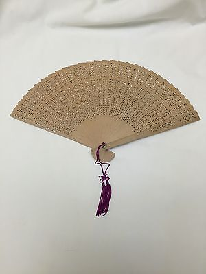 wooden fan costume prop Victorian steampunk