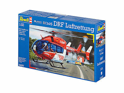 Revell - Airbus Helicopters EC145 DRF Luftrettung, 1:32, NEU, OVP, 04897