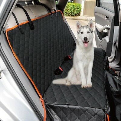 Heavy Duty Wasserdicht Auto Rear Seat Boot Schutz Hängematte Pet Covers Hund DE